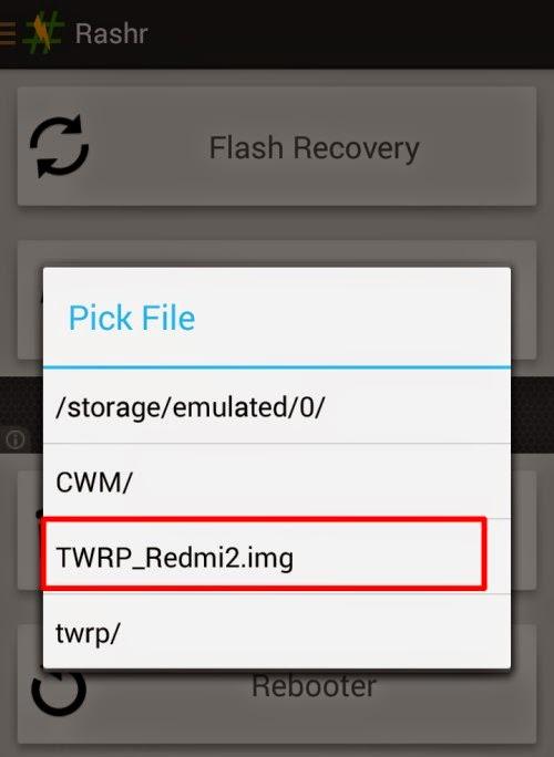 flash twrp max c2 rashr