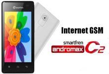 Cara Mengaktifkan Internet GSM di Andromax C2 3