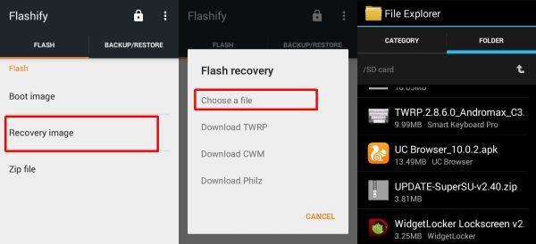flashify twrp c3