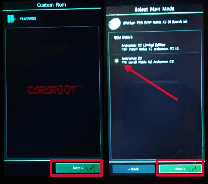 Cara Pasang Custom ROM ASUS Zenfone (ZenUI) di Andromax C3 4