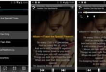 Gambar 3 Cara Menambahkan Lirik Lagu di Musik Player Android 1
