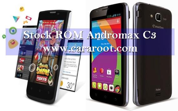 Cara Pasang Stock ROM Deodex Andromax C3