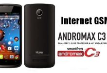 Cara Menggunakan Internet GSM di Andromax C3 1