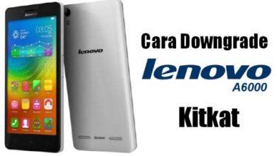 Gambar Tutorial (Downgrade) Kembali ke Kitkat Dari Lollipop di Lenovo A6000 8
