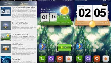 Xwidget Aplikasi Widget Cuaca Terbaik 1