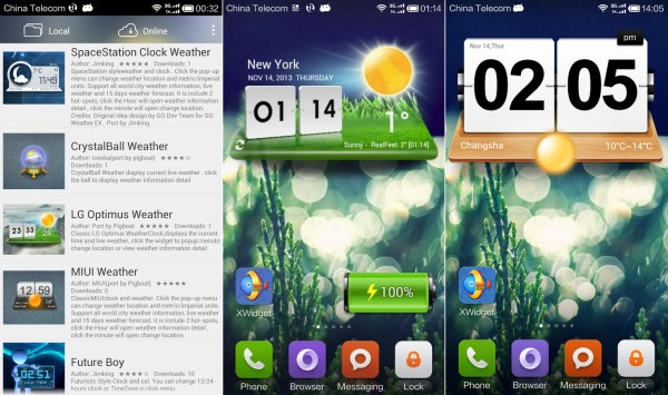 Xwidget buat android