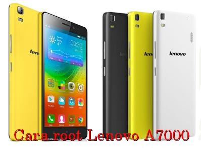 cara root Lenovo A7000