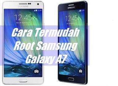 cara root galaxy a7