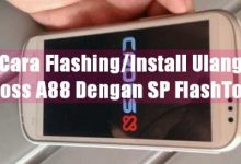 Gambar Cara Flashing/Install Ulang Cross A88 dengan SP FlashTool 6