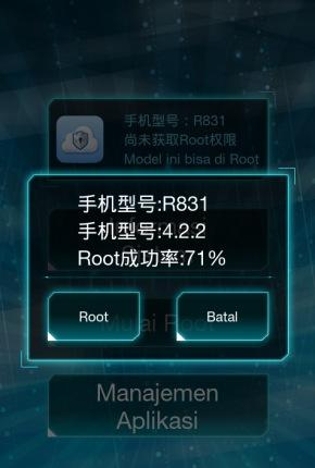 pasang root master
