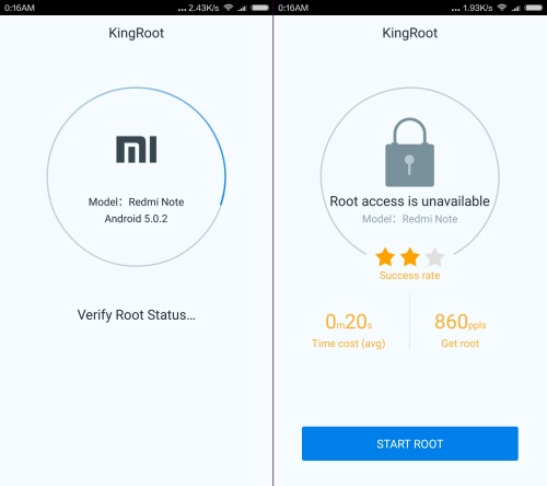 root redmi note 3 kingroot