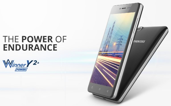 evercoss y2 plus power