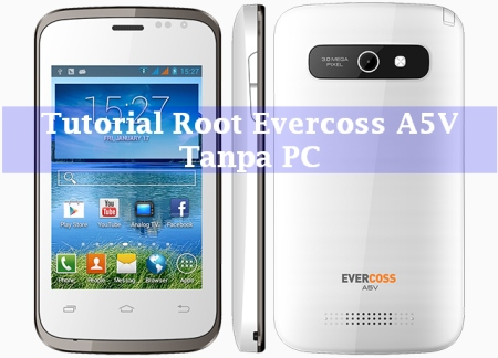 root evercoss a5v
