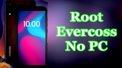 Cara Root Evercoss