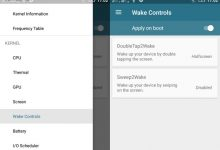 Cara Mengaktifkan Double Tap To Wake di Stock ROM Lenovo A6000 4