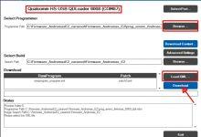 Gambar Tutorial Flashing/Install Ulang Andromax E2 B16C2H via PC dengan QPST QFIL 3