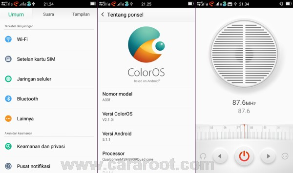 ROM OPPO ColorOS Andromax A