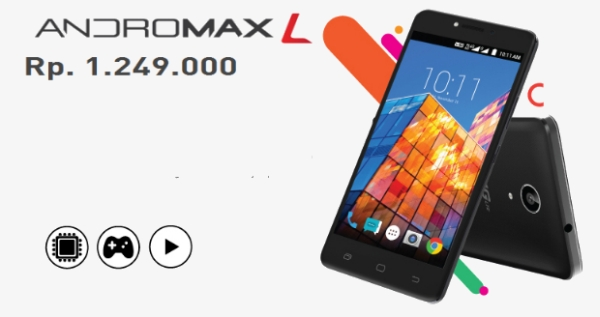 Gambar Andromax L Smartphone Terbaru Dari SmartFren 1