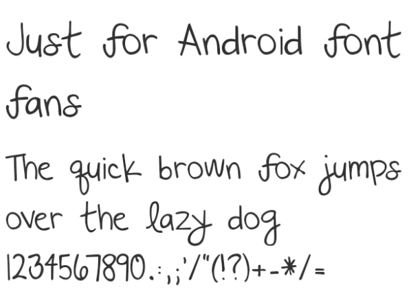 Beberapa Font berformat  itz buat Vivo (Funtouch OS) | CaraRoot com