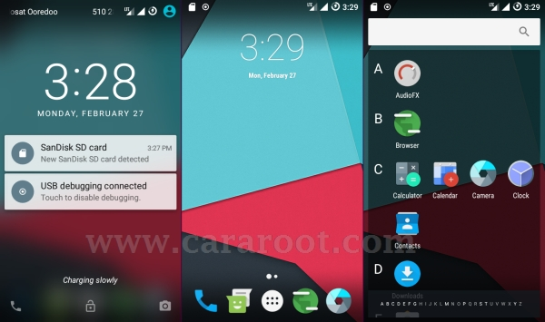 Cara Install Unofficial ROM Lineage OS 13.1 Di Andromax E2