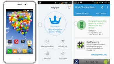 Cara Mudah Melakukan Root di Smartphone Evercoss A74C 12