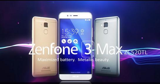 Spesifikasi Lengkap ASUS Zenfone 3 Max dengan Chipset Snapdragon 1