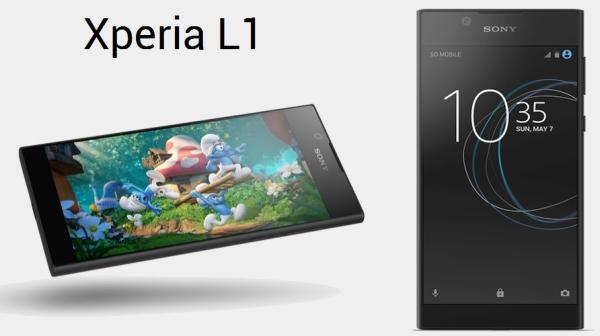 Gambar Xperia L1 Ponsel Terbaru Dari Sony dengan Harga Murah dan Spesifikasi RAM 2GB 1