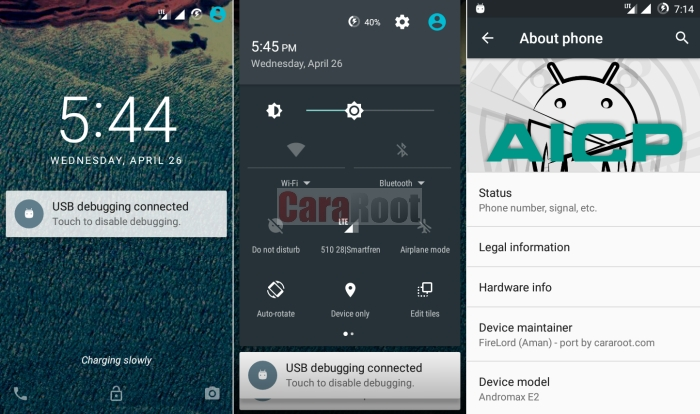 Custom ROM Android Ice Cold Project (AICP) 11 untuk Andromax E2 (VOLTE) 1
