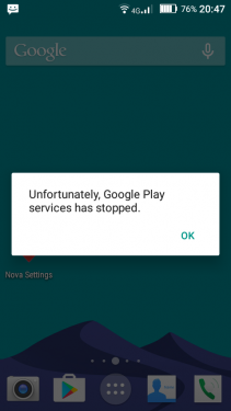 Menghilangkan Notifikasi Error Google Play Service di Marshmallow 1