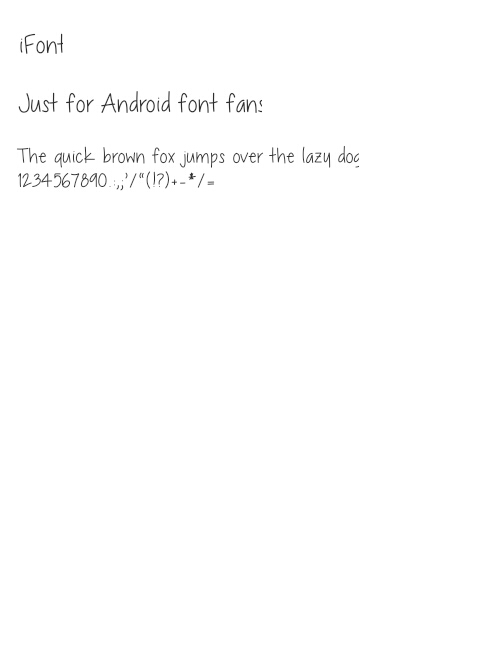 Chocolate Covered Raindrops Font For Vivo 1