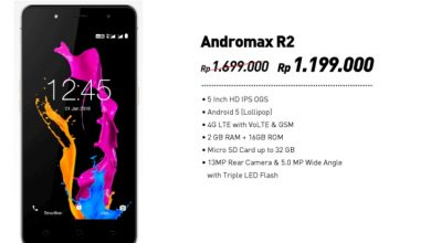 Gambar Andromax R2 dengan Spesifikasi RAM 2 GB di Jual dengan Harga Murah 3