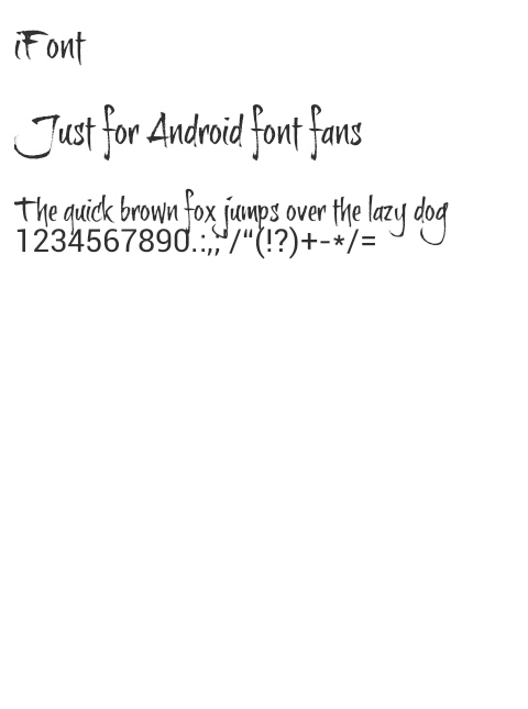 Gambar Brush itz Font For Vivo 1