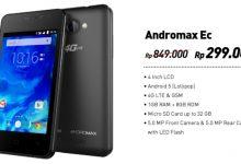 Promo 2017 Andromax Ec Spesifikasi 4G, RAM 1GB Harga 300 Ribu 4