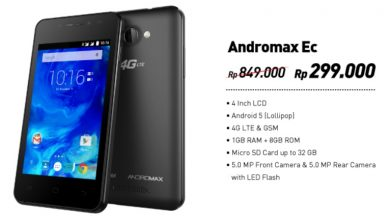 Promo 2017 Andromax Ec Spesifikasi 4G, RAM 1GB Harga 300 Ribu 3