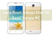 Gambar Simpel Metode Root Advan S45A Android Kitkat 2