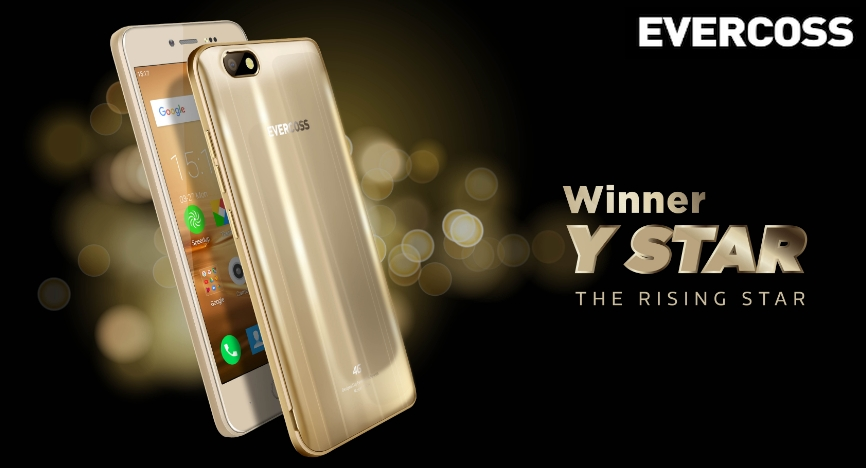 Winner Y Star Smartphone 4G Rp 1 jutaan dengan OS Android Nougat 1