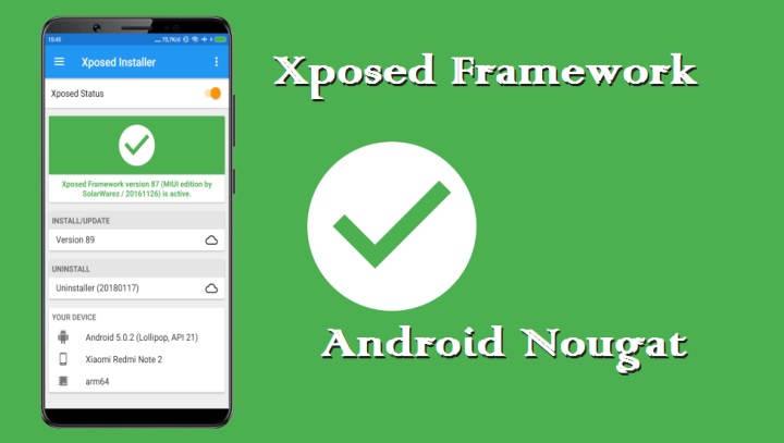Cara Install Xposed Framework Di Android Nougat