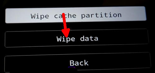 wipe data Vivo V5 Plus