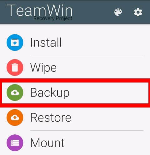 Tutorial Backup Modem dengan TWRP 1