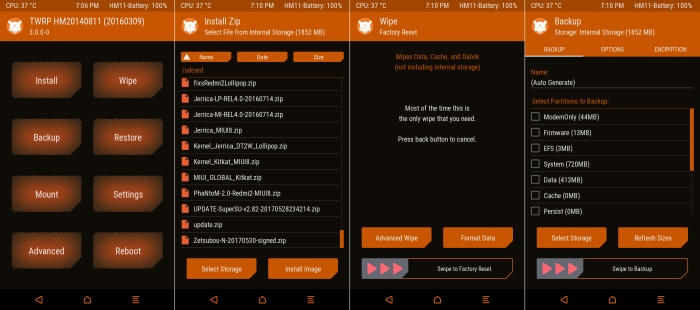 Cara Install TWRP Di Redmi 2 Kitkat Dan Lollipop Tanpa PC