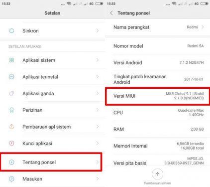 Cara UBL / Unlock Bootloader Xiaomi Redmi Note 5A / Prime 2