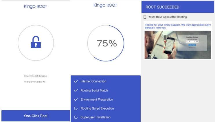 root kitkat dengan kingoroot