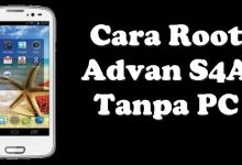 Cara Root Advan S4A Tanpa PC 8