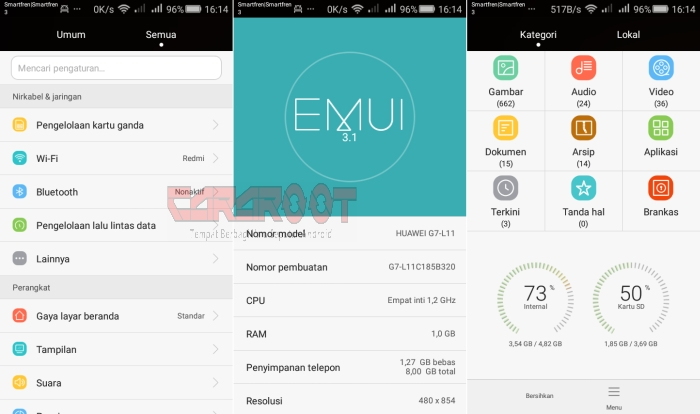 install ROM huawei emui Androamx Qi
