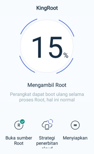 proses root