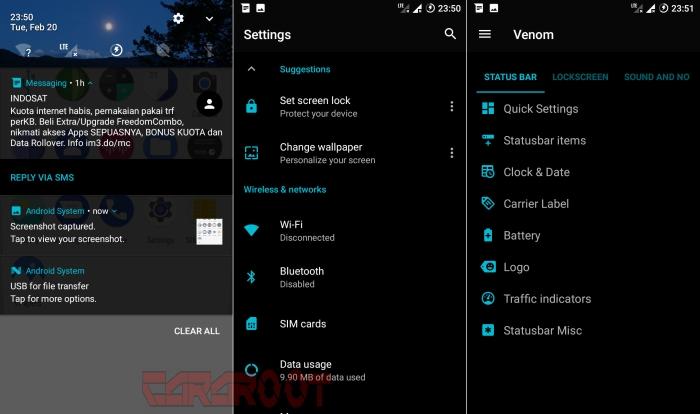 ROM ViperOS Android 7.1.2 Nougat buat Redmi 2 2