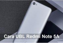 Gambar Cara UBL / Unlock Bootloader Xiaomi Redmi Note 5A / Prime 5