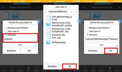 WhatsApp Mod Terbaik Support Tema dan Dual WA 3