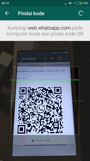 scan whatsapp