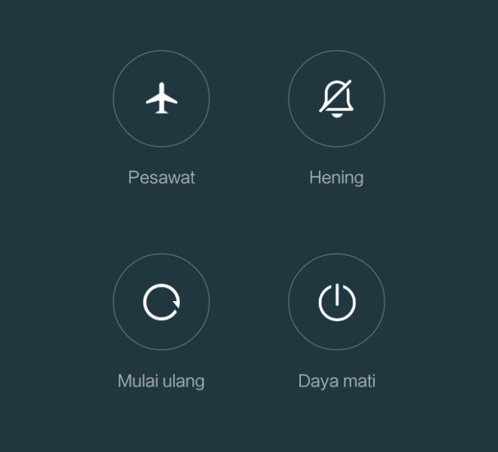 restart ulang redmi